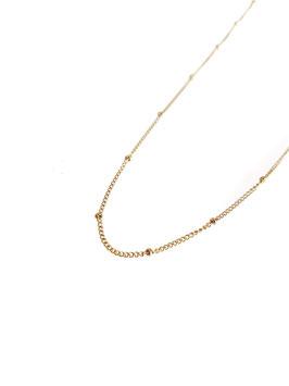 JO - chaine dorée perles