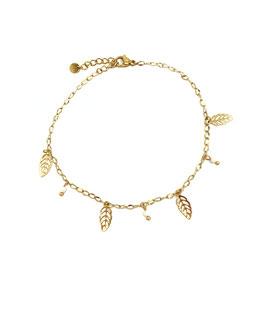 CASSIE - Chaine de cheville dorée