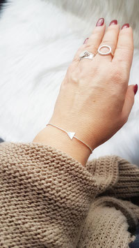 STAN - bracelet triangle ARGENT 925