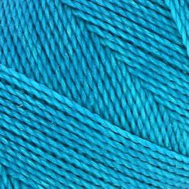 Fil ciré 0,5 mm TURQUOISE FONCE