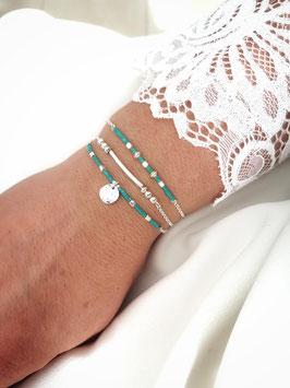 CANDICE - trio de bracelets en argent