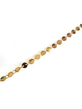 JULES - Bracelet doré médailles