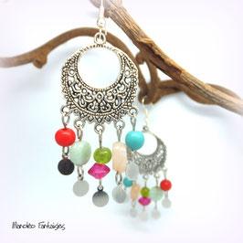 KLELIA - Boucles d'oreilles ethniques perles - 50%