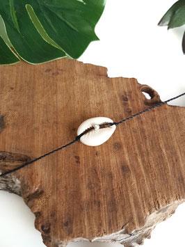 CAURI - Bracelet de cheville coquillage à nouer