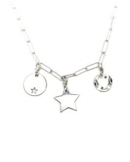 LOGAN ♥ coffret collier et charms argent