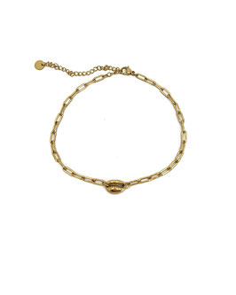 TAHIA - Chaine de cheville dorée