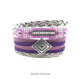 Bracelet AKIRA violet