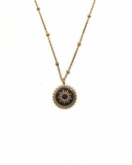 KYO noir - collier doré