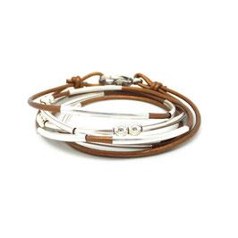 YOU bronze ♥  Bracelet en cuir