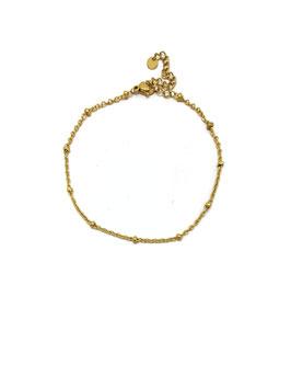 JO - Chaine de cheville dorée