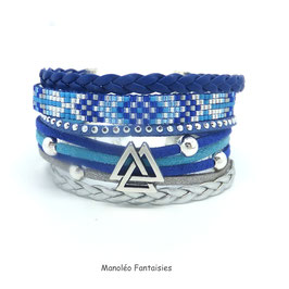 Bracelet INAKI bleu