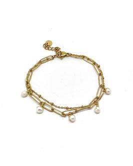 MILY - Bracelet doré
