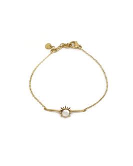 SUN - bracelet doré