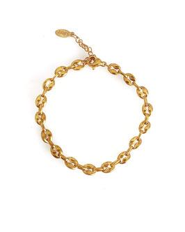 LOA - Bracelet doré grains de café