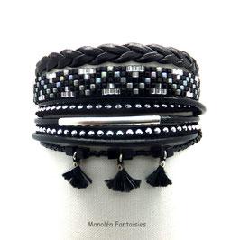 Bracelet HIRO noir