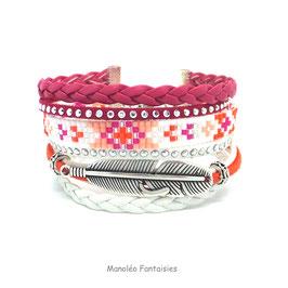 Bracelet manchette MIA