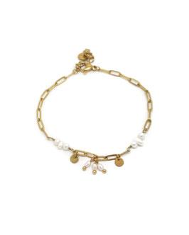 CÔME - Bracelet doré