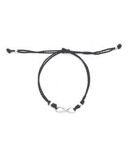 INFINI  cordon ♥ Bracelet argent