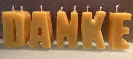 Buchstabenkerzen