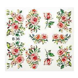 Water Decal 3D B36