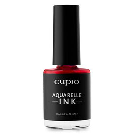 Aquarelle Ink - Dark red