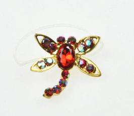 Bague d'orteil Dragonfly Red