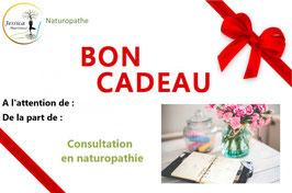 BON CADEAU - CONSULTATION EN NATUROPATHIE (physique)