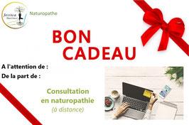 BON CADEAU - CONSULTATION EN NATUROPATHIE (à distance)