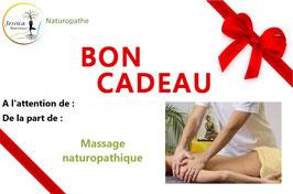 BON CADEAU - MASSAGE NATUROPATHIQUE