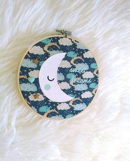 Cadre tambour lune