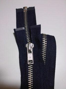 1 x Metall Jacken Reißverschluß Farbe : Marineblau von if