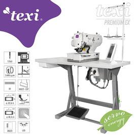TEXI O PREMIUM EX Elektronische Knopflochmaschine - komplette Nähmaschine
