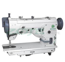 ZOJE ZJ457B143M-F SET ZickZack-Maschine mit Kurvenlineale zur Stichänderung, mit energiesparendem Motor TP550 - komplette Nähmaschine