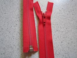 Teilbaren Reißverschluß 185 cm Farbe : Rot