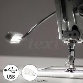 TEXI LED USB Lampe Nähmaschinenlampe mit Magnetfassung  magnetisch 12 LED, 5 V, 0,6 W, USB NEU