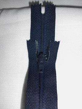 (2,00 € / Stück)   2 x Reißverschlüße für Hosen & Röcke .22 cm. Farbe:Dunkelblau vonOpti