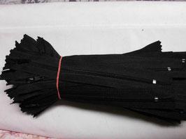 (1,85 € / Stück)   2 Reißverschlüße für Hosen & Röcke Länge : 16 cm Farbe : Schwarz