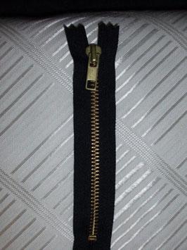 (2,30 € / Stück)   2 Stück Stabile Jeanshosen Reißverschluße 20 cm von YKK Farbe : Schwarz