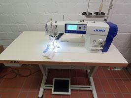 Industrienähmaschine Juki DDL 8000APMS-NBK Vollautomatik  automatischer Fadenabschneider Servomotor Bedienfeld im Kopf für mittel bis schwere Stoffe