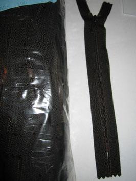 (1,75 € / Stück)   2 Reißverschlüße für Hosen & Röcke von R 8 cm Braun