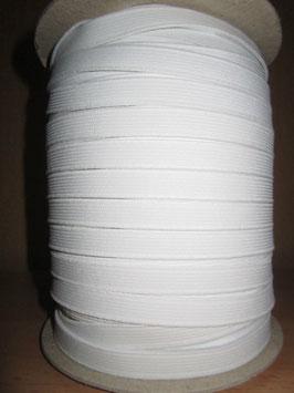 (0,80 €/Meter)  10 mm Breit Gummiband weiß 6 Meter