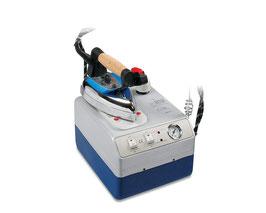 Silter Super Mini Professional 2002 2 Liter Dampferzeuger mit Bügeleisen & Teflonsohle