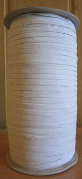 (0,19€/Meter) ca: 5 mm Breit Gummiband weiß 300 Meter