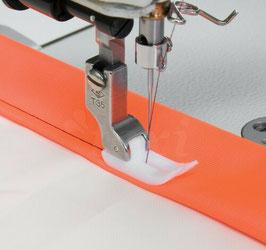 Teflonfuß für Industrienähmaschine geeignet für Juki, Zoje, Global, Pfaff usw