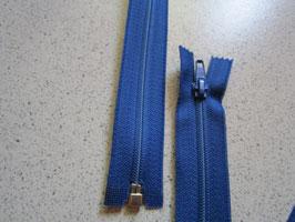 1 x Teilbaren Reißverschluß 125 cm Farbe : Blau