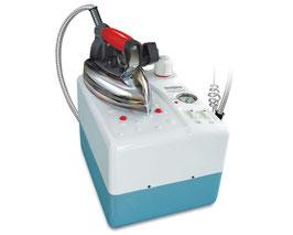 Silter Magma Super Mini Professional 1035 3,5 Liter Dampferzeuger mit Bügeleisen & Teflonsohle