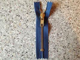 (2,30 € / Stück)   2 Stabile Jeanshosen Reißverschluße 10 cm von YKK Farbe : Blau