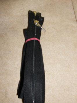 1 x Jacken Reißverschluß 84 cm Farbe Schwarz