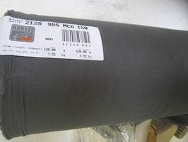 (4,20 € / m)   2 m Gewebte Klebende Einlage 150 cm Breit von Hänsel Farbe : Grau