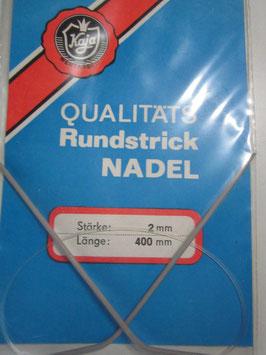 1 x Qualitäts Rundstricknadel